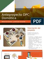 Anteproyecto DPC Domótica