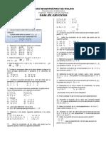Guía de ejercicios - Ecuación de la recta.docx