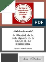 Ejercicios memoria 1 - PDF