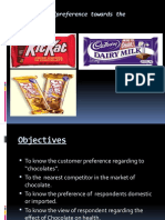 RAJESH GOMRA PPT on Project on Chocolate