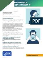 CDC - Cloth Face Mask
