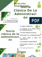 Teoría Clásica De La Administración dirección empresarial (1)