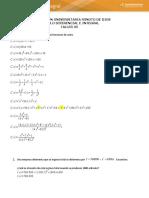 Taller  05 - Calculo Diferencial