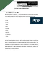 PROGRAMA DE HIGIENE INDUSTRIAL MINA