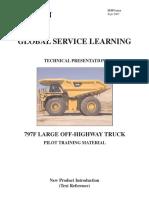 Curso Tecnico Camion Caterpillar 797F