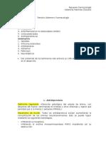 Resumen farmacología II