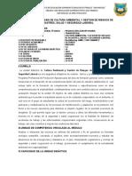 SÍLABO CULTURA A. AGRO II