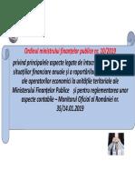 scurt OMFP 10 inchidere 2018