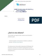 Aduana - ¿Qué es una aduana_ _ Glosario contable de Debitoor.pdf