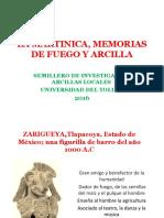 La Martinica, memorias de fuego y arcilla - presentación SAL - UT