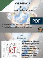EL FUTURO DE LA TECNOLOGÍA, INTERNET DE LAS COSAS