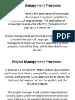 PM processes