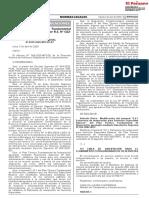 Modifican el Plan Técnico Fundamental de Numeración aprobado por R.S. N° 022-2002-MTC