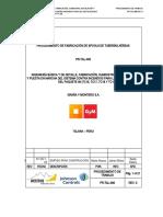 PR-TAL-006 PROCEDIMIENTO DE FABRICACION DE SPOOLS DE TUBERIAS AEREAS.doc