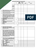 BOQ Fire Fighting (Hydrant) System R0 18-03-2020