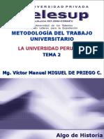 2. La Universidad Peruana.
