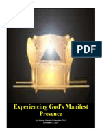 Experiencing God's Manifest Presence