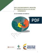 NORMAS PARA EL RECONOCIMIENTO, MEDICIÓN, REVELACIÓN DE LOS HECHOS ECONOMICOS