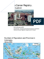 Indonesia Cancer Registry, Current Situation