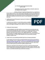 3.17.20 COVID 19 Telehealth Waiver FAQ Final