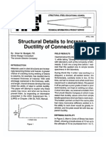1995 - 04 Structural Details to Increase Ductility of Connections
