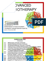 New Advanced in Radiotherapy
