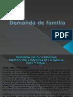 Demanda de Familia