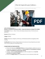 Como Elaborar un Plan de Inspección para Calderas  Semipresencial.pdf