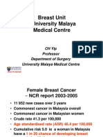 Breast Unit – University Malaya Medical Centre