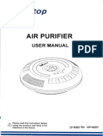Webetop CF-8000 WP-A6001 Manual