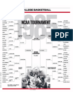 1985 NCAA men's basketball tournament bracket