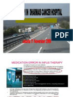 Chemotherapy in Dharmais Cancer Hospital