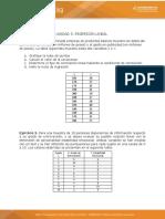 Actividad 7 Taller de Regresión y Correlación Lineal