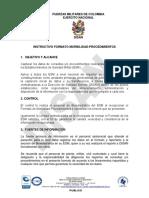 Instructivo Formato Morbilidad-Procedimientos