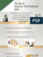 Teorías de la motivación de McClelland y Freud