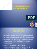 Inventory Mgmt Customer Service ( Day 3A)