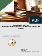 REVISTA INSTITUCIONES RELACIONADAS AL ADJETIVO DE TRABAJO