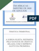 LIÇÕES BÍBLICAS - ADULTOS - 2º TRIMESTRE DE 2020.pptx