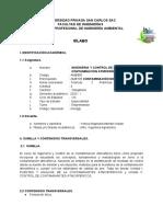 AMB805 ING CONTROL CONTAMINACION ATMOSFERICA EMPRENDEDOR