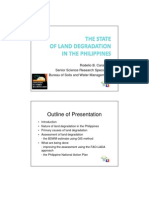 State of Land Degradation in the Phils