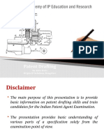 Basics of Patent Drafting