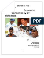 Batsmans Consistency Recovered)