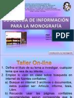 1. Taller de busqueda información confiable medios digitales