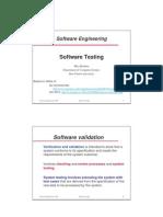 1 Software Testing