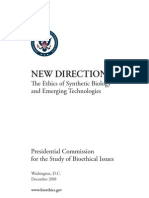 Synthetic Biology Report December 2010[1]