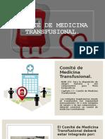 COMITE DE TRANFUSIONES