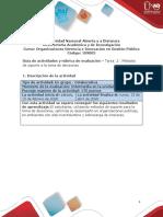 Guia de actividades y Rúbrica de evaluación tarea 2 métodos de soporte a la toma de decisiones