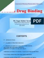 protein drug binding