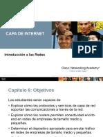 Capa de Internet - Modelo TCP-IP