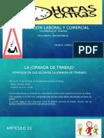 LA JORNADA DE TRABAJO Y REGIMEN LEGAL DE LOS DESCANSOS